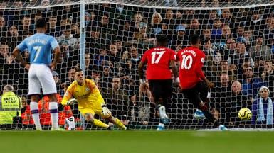 يونايتد يهزم سيتي ويبعده عن ليفربول بـ14 نقطة