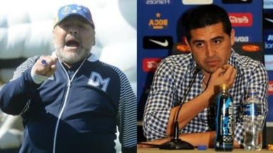 انتخابات بوكا جونيورز تشعل الصراع بين مارادونا وريكيلمي