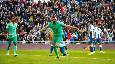 ريال مدريد يهزم إسبانيول بهدفي فاران وبنزيمة