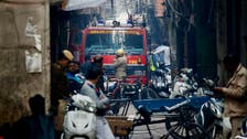 كارثة تضرب العاصمة الهندية.. نار تلتهم 43 شخصاً