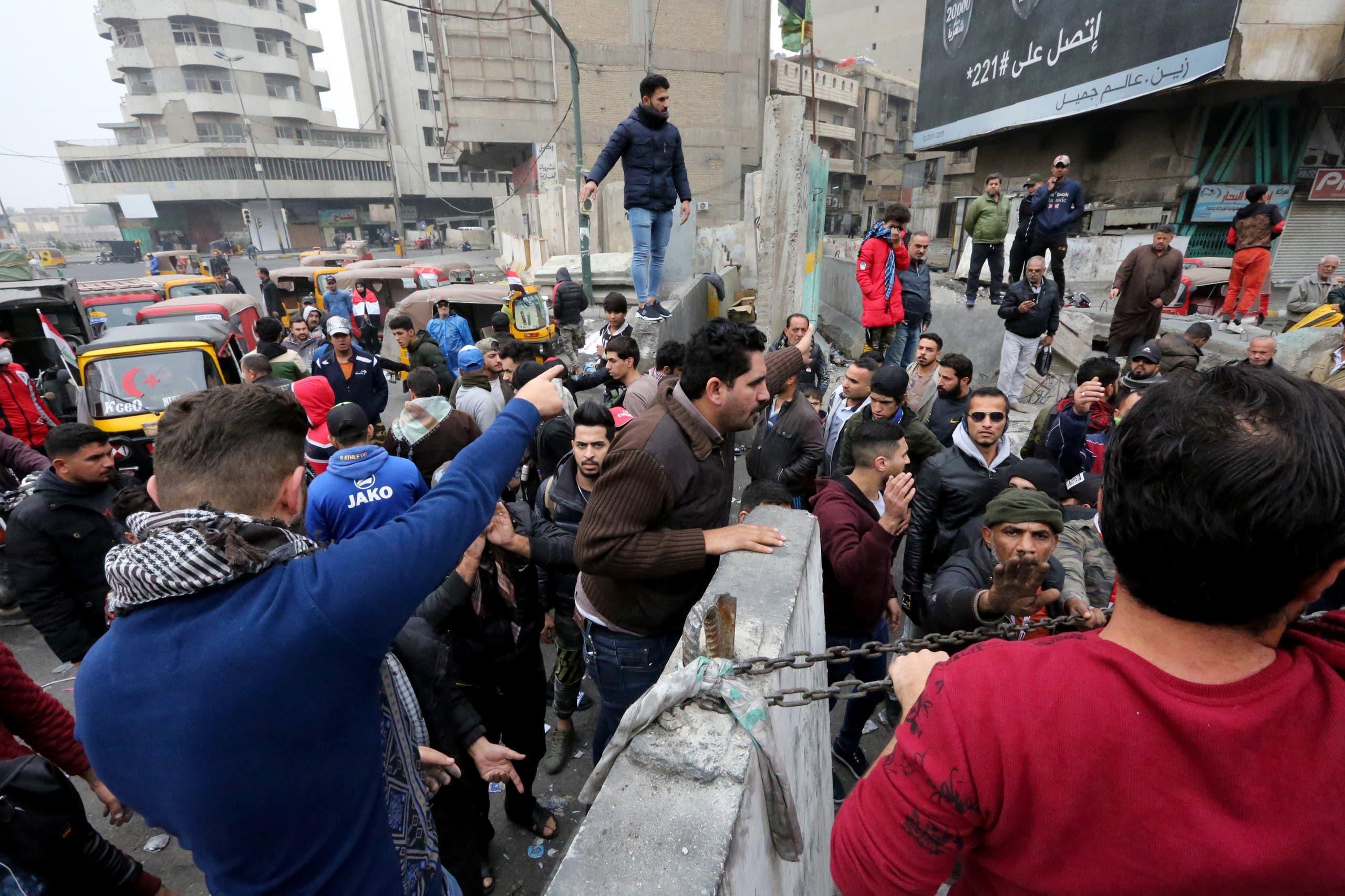 من الخلاني في بغداد (7 ديسمبر -فرانس برس)