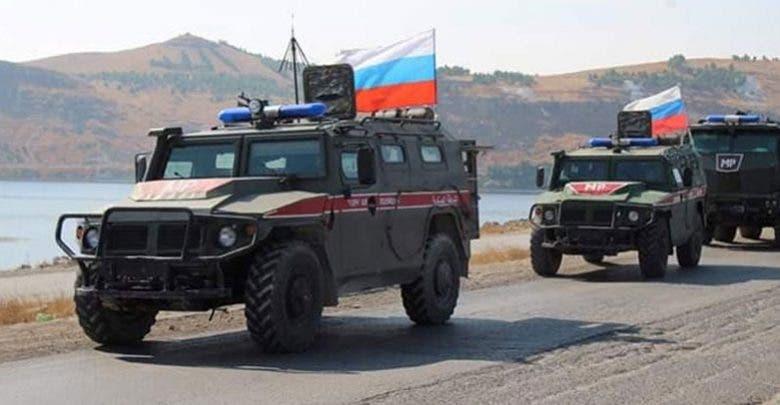 دورية روسية شمال سوريا