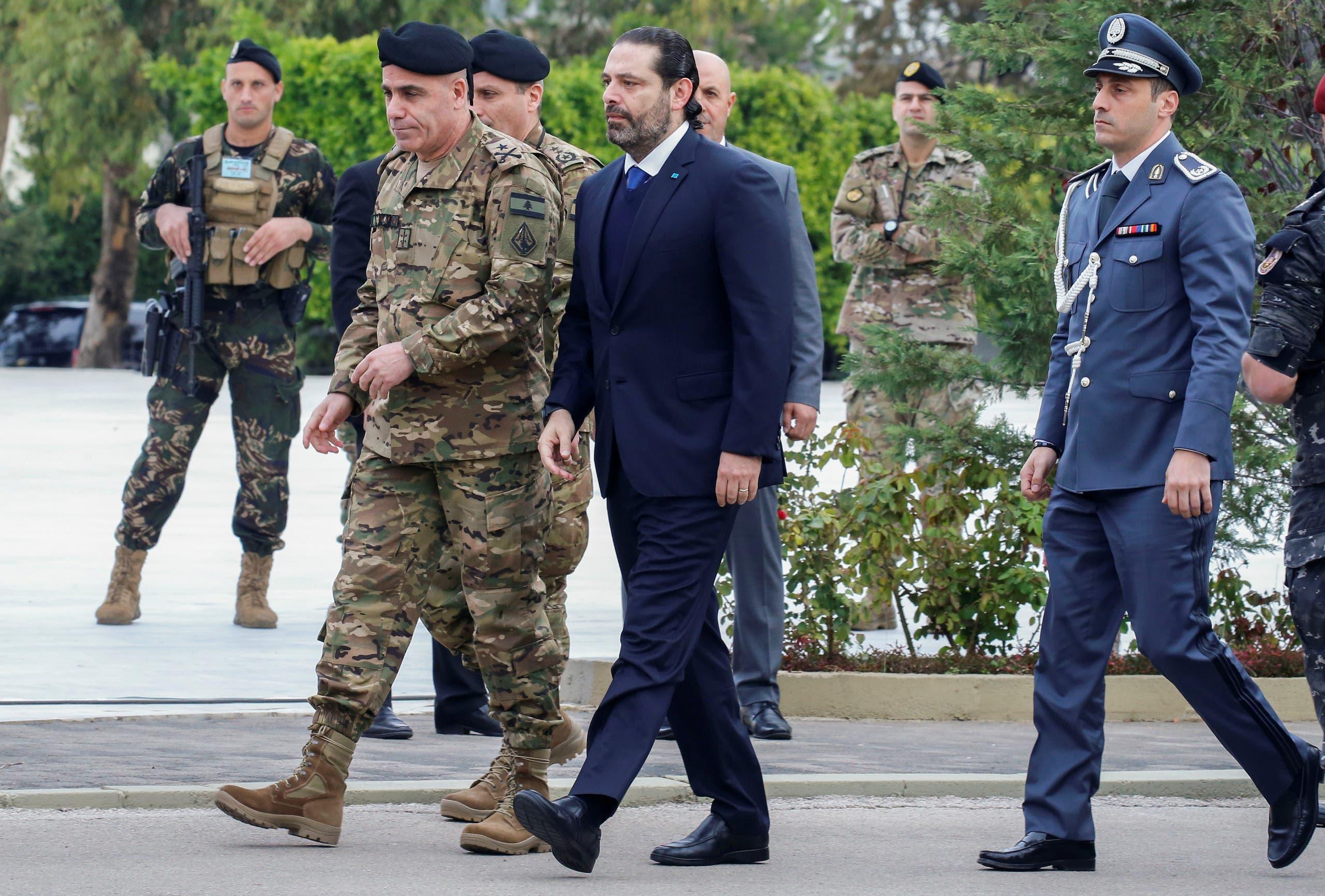 رئيس الحكومة اللبنانية المستقيل سعد الحريري(رويترز)