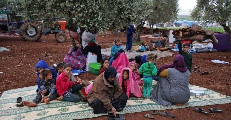 نازحون في إدلب