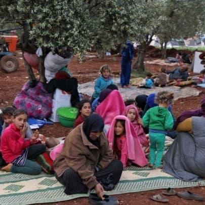 38 ألف سوري نزحوا من إدلب خلال أسبوع في ظل تصعيد عسكري