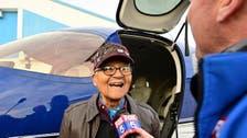 Tuskegee Airman celebrates 100th birthday with flight
