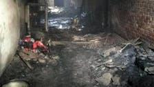 Fire at warehouse in India's capital kills nine, injures three
