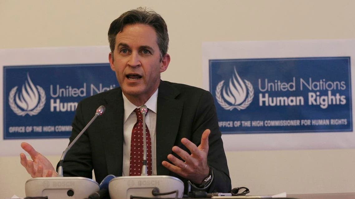 United Nations Special Rapporteur David Kaye speaks to the media about the situation of the right to freedom of opinion and expression in Turkey, in Ankara, Turkey, Friday, November 18, 2016. (File photo: AP)