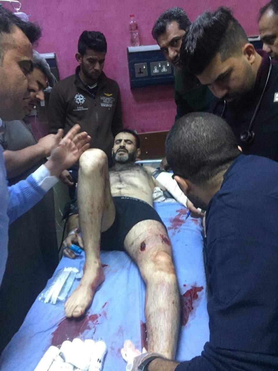 محاولة اغتيال الناشط باسم الزبيدي في ميسان