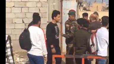 بالفيديو.. فزعة طلاب هاجم الأمن العراقي معلمهم!