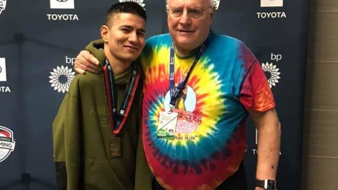 شناگر معلول افغان برنده چهار مدال طلا در مسابقات در امریکا شد
