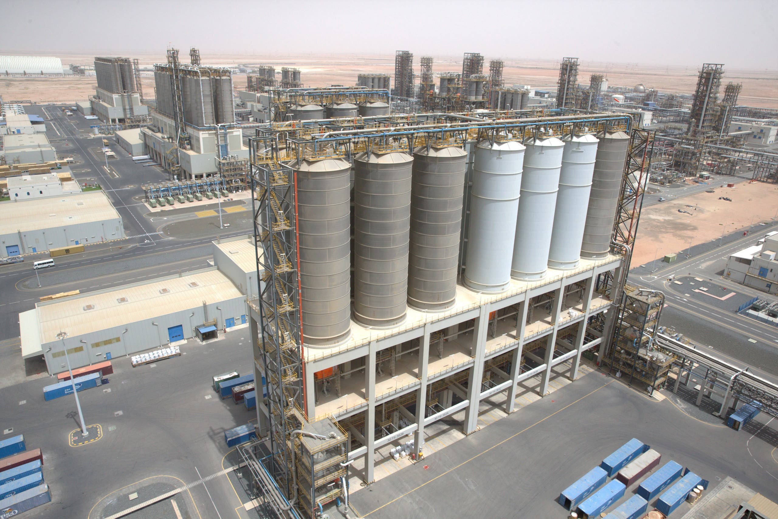General view of the Borouge petrochemical facility at ADNOC's Ruwais Industrial Complex in Ruwais, United Arab Emirates May 14, 2018. (File photo: Reuters)