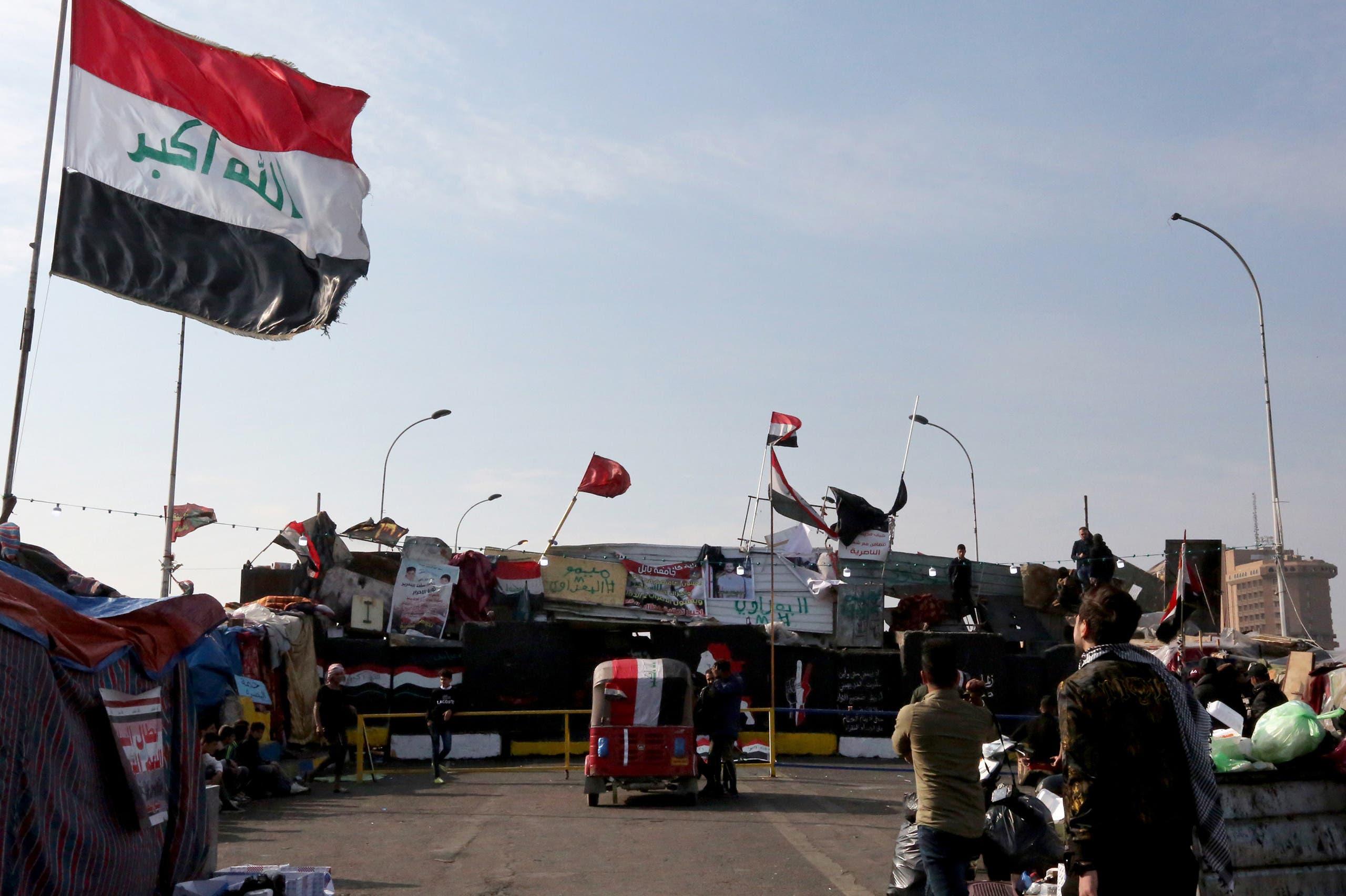 من محيط جسر السنك( 9 ديسمبر-0 فرانس برس)