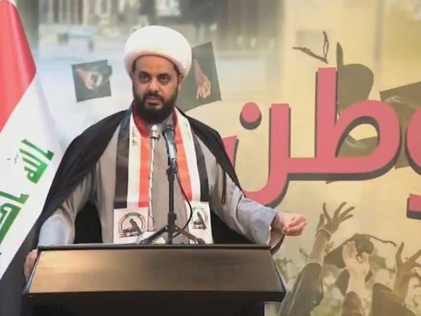 """""""العصائب"""" تلوح بالفوضى رداً على مداهمة بغداد"""
