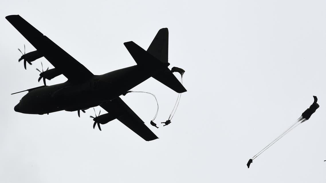 C-130 Hercules during RAF preparations (file photo - AFP)