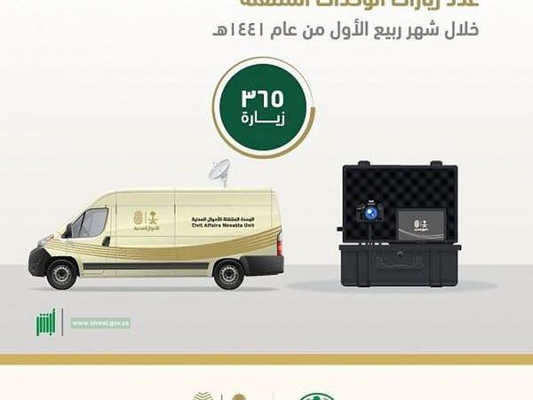 خلال شهر.. هذه خدمات الأحوال المدنية المتنقلة بالسعودية