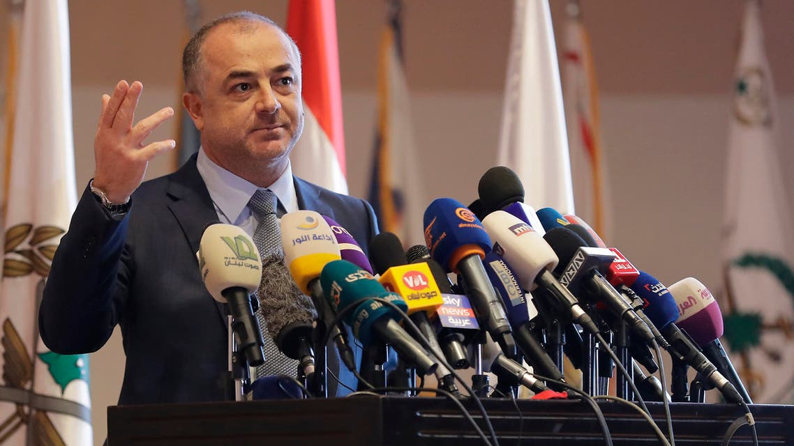 وزير الدفاع اللبناني الياس بو صعب(فرانس برس)