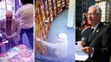 وڈیو : ارجنٹائن کی معروف لائبریری میں سفیر کی چوری پکڑی گئی