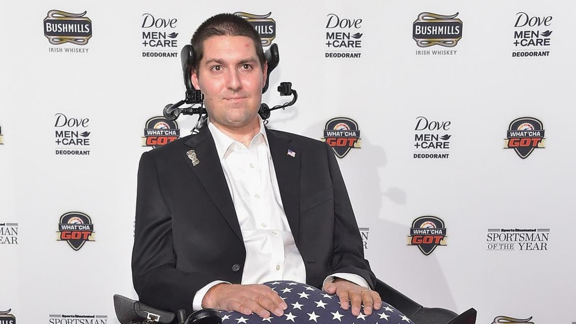 In this file photo taken on December 08, 2014 Pete Frates attends the Sportsman Of The Year 2014 Ceremony on December 9, 2014 in New York City. (AFP)