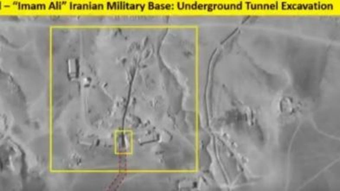 Images released by ImageSat Intl. show Iran is building tunnels in Syria near Iraq border. (Courtesy/ ISI)
