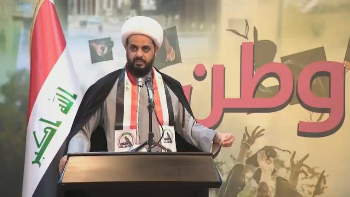 THUMBNAIL_ زعيم عصائب أهل الحق يحذر من مخطط لنشر الفوضى في بغداد
