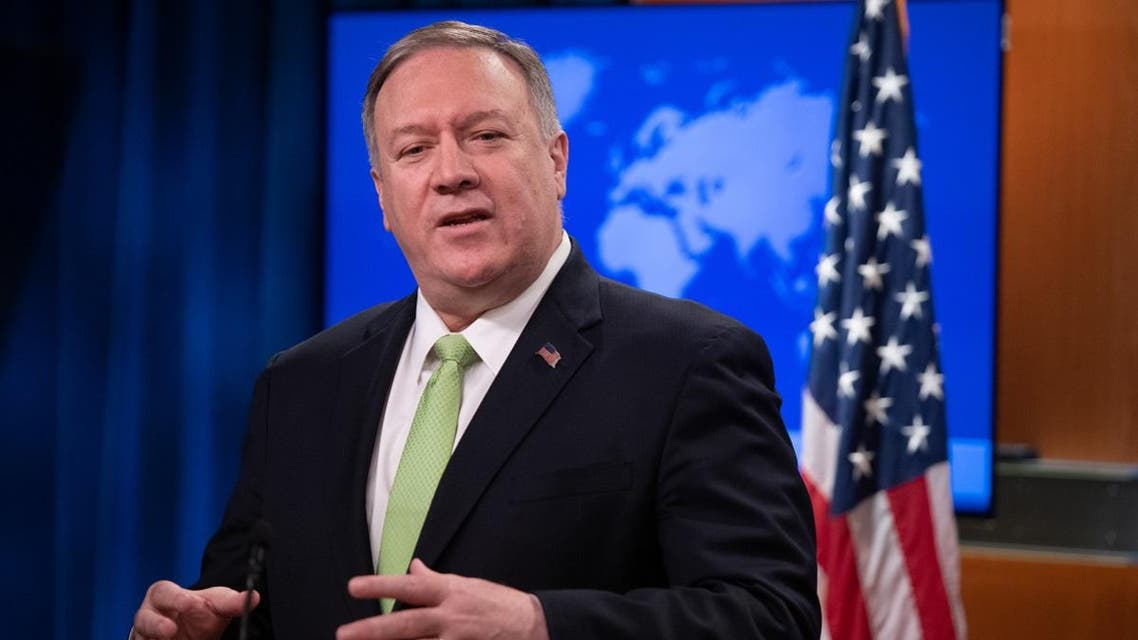 US Secretary of State Mike Pompeo holds a press conference at the State Department in Washington, DC, December 11, 2019. (AFP)