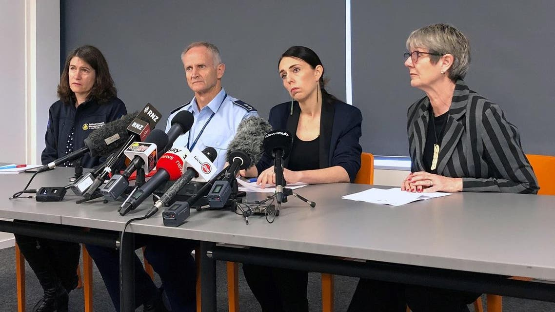 New Zealand's Prime Minister Jacinda Ardern listens as she addresses the media following an eruption of the White Island volcano, in Whakatane, New Zealand, on December 10, 2019. (Reuters)