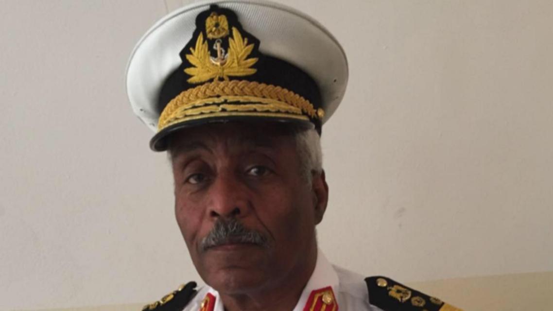 اللواء فرج المهدوي قائد البحرية بالجيش الليبي