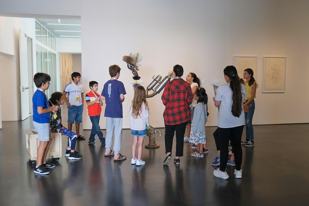 Summer Arts Camp at Jameel Arts Centre, Dubai. (Courtesy: Jameel Arts Centre. Photo by Brenta Galotera)