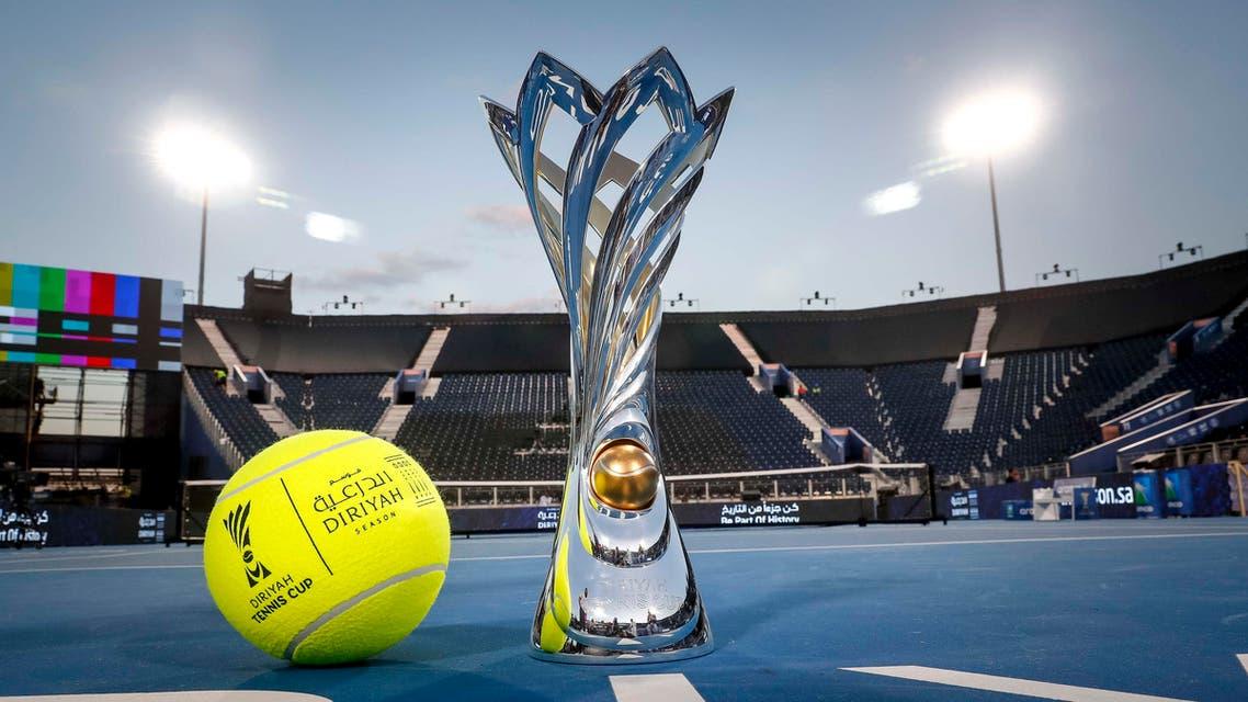 The Diriyah Tennis Cup show. (Supplied)