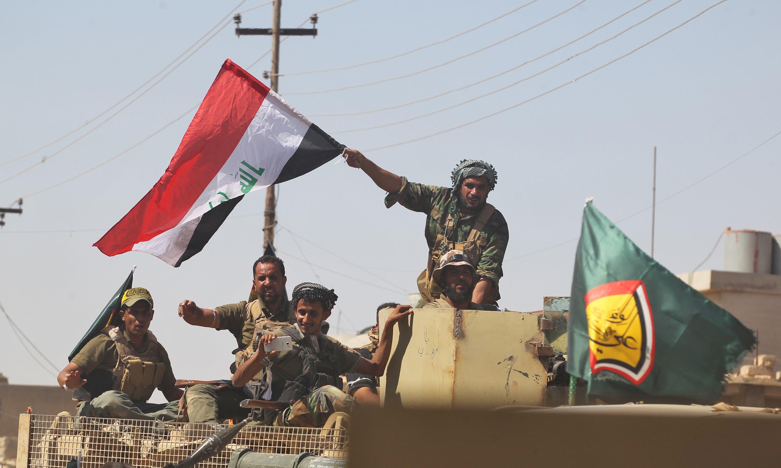 عناصر من الحشد الشعبي في العراق (أرشيفية)
