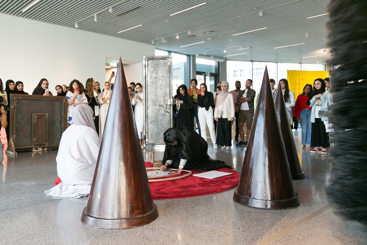 'Youth TakeOver' event at  Jameel  Arts Centre, Dubai. (Courtesy: Jameel Arts Centre)