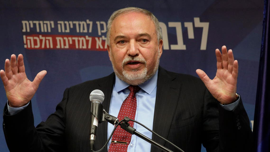 Israeli leader of the Yisrael Beiteinu right-wing nationalist party Avigdor Liberman, December 11. (AP)