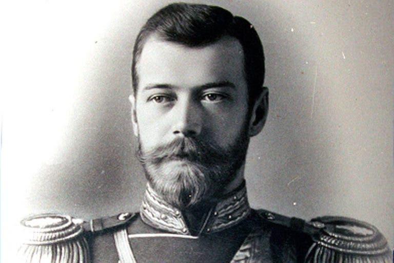 صورة للإمبراطور الروسي نيقولا الثاني