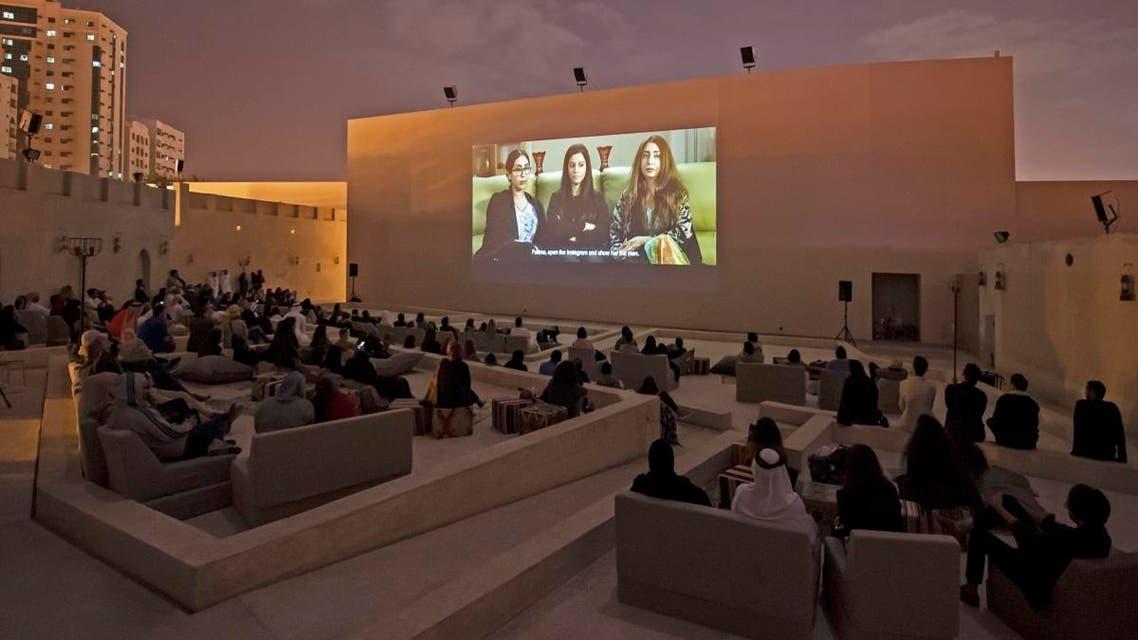 Film screenings for Sharjah Film Platform at Mirage City Cinema, Sharjah Art Foundation, 2010. Photo -Sharjah Art Foundation