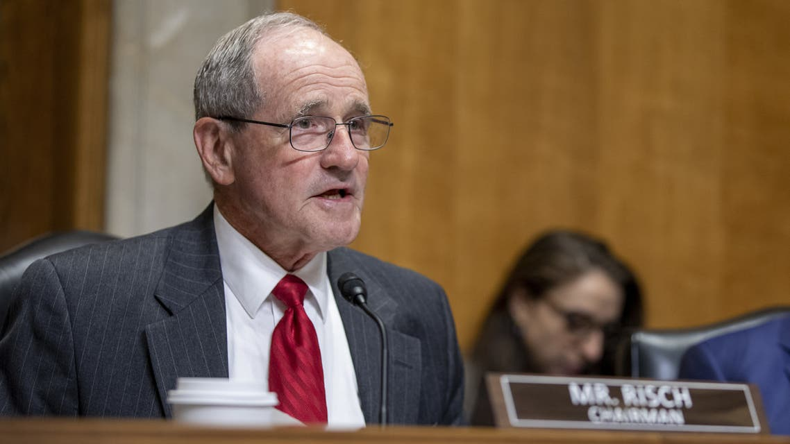 WASHINGTON, DC - JUNE 19: U.S. Sen. James Risch (R-ID) listens during the nomination hearing of Kelly Craft, President Trump's nominee to be Representative to the United Nations, before the Senate Foreign Relations Committee on June 19, 2019 in Washington, DC. Craft has faced extensive scrutiny for her ties to the coal industry, as well as allegations that she was frequently absent during her time as the U.S. Ambassador to Canada. Stefani Reynolds/Getty Images/AFP