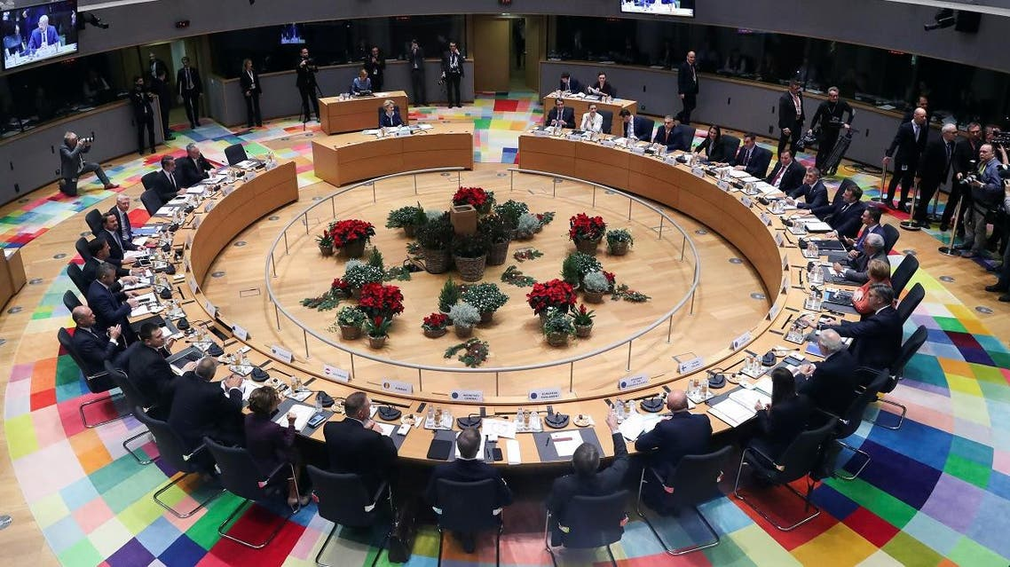 European Union leaders meet for a EU summit in Brussels, Belgium. (Reuters)