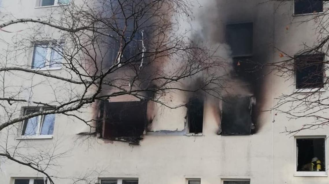 At least 25 people were injured in an explosion in the eastern German city of Blankenburg. (Photo: Twitter)
