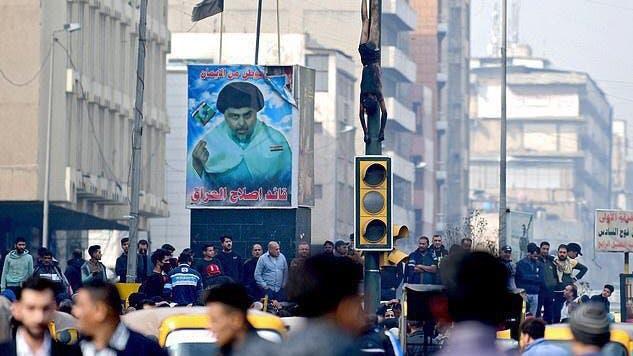 من ساحة الوثبة في بغداد