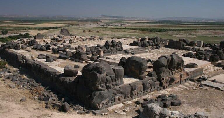 صورة ارشيفية لمعبد عين دارة