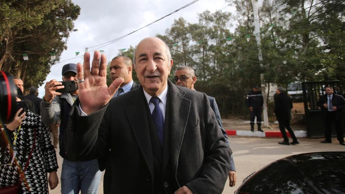 Former prime minister Abdelmadjid Tebboune wins the Algerian presidential election. (Photo: Reuters)