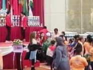 شاهد استقبال التوأم السعودي بعد فوزه بيوسي ماس بماليزيا