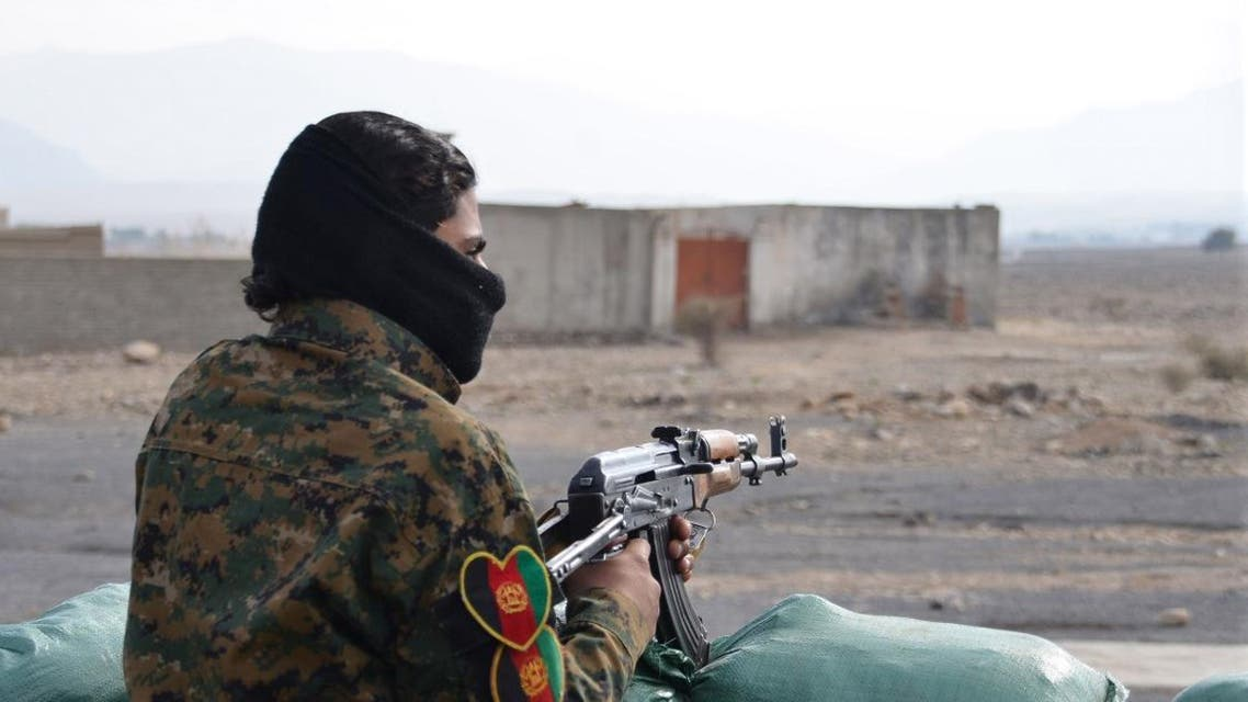 At least one member of an Afghan militia opened fire on his fellow militiamen early Saturday, killing nine. (Photo: AP)