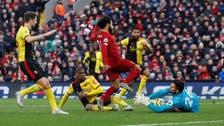 Salah scores twice as Liverpool beats Watford 2-0 in EPL
