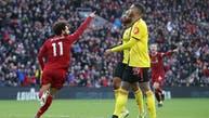 هدفان رائعان من صلاح يمنحان ليفربول الفوز على واتفورد