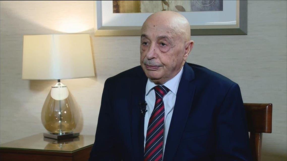 THUMBNAIL_ عقيلة صالح للعربية: صدر الأمر ببدء العملية العسكرية لتحرير طرابلس