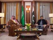 محمد بن سلمان يبحث مع عمران خان العلاقات الثنائية