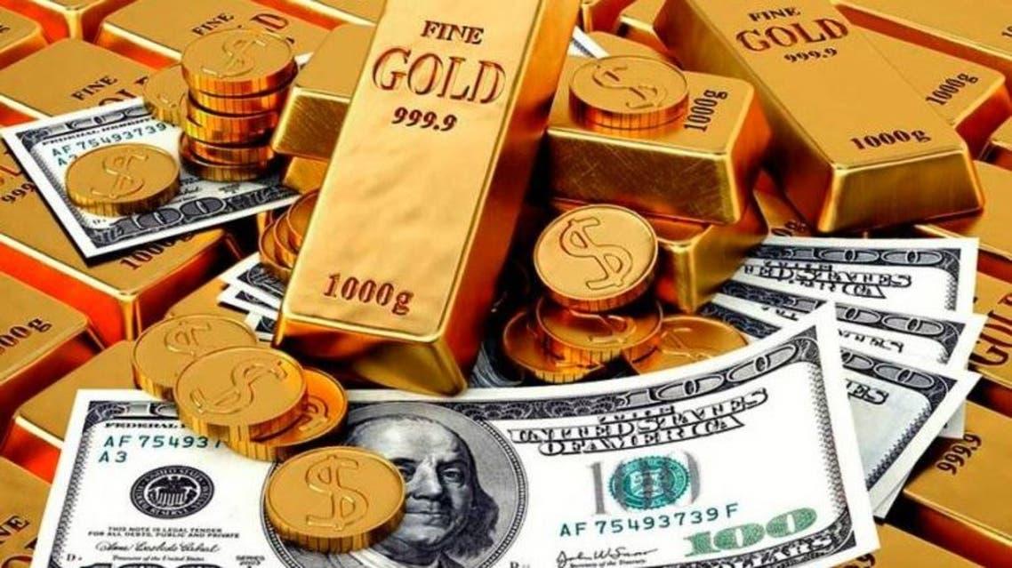 الذهب الدولار