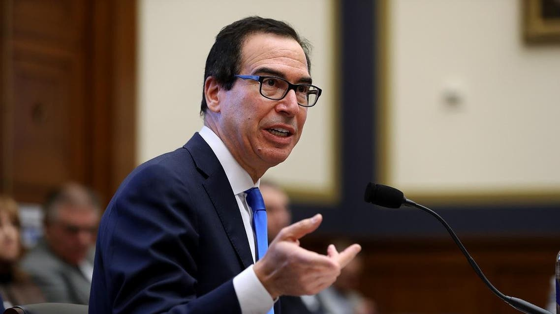 U.S. Treasury Secretary Steven Mnuchin testifies before the House Financial Services Committee in the Rayburn House Office Building on Capitol Hill December 05, 2019 in Washington, DC. (AFP)