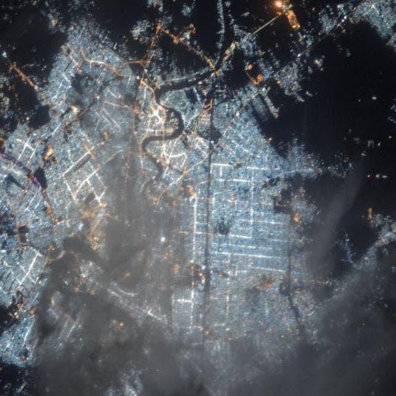 رائدة فضاء أميركية تنشر صورة لبغداد..